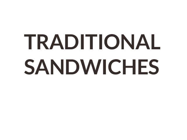 Traditional Sandwiches Icon